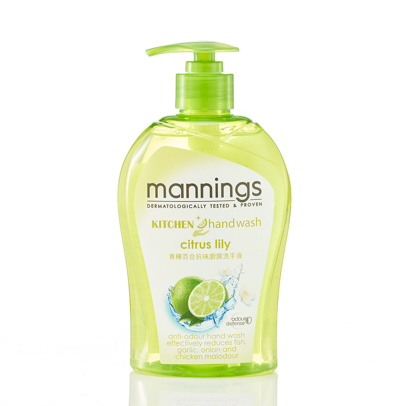 Mannings Kitchen Hand Wash Citrus Lily 500mL