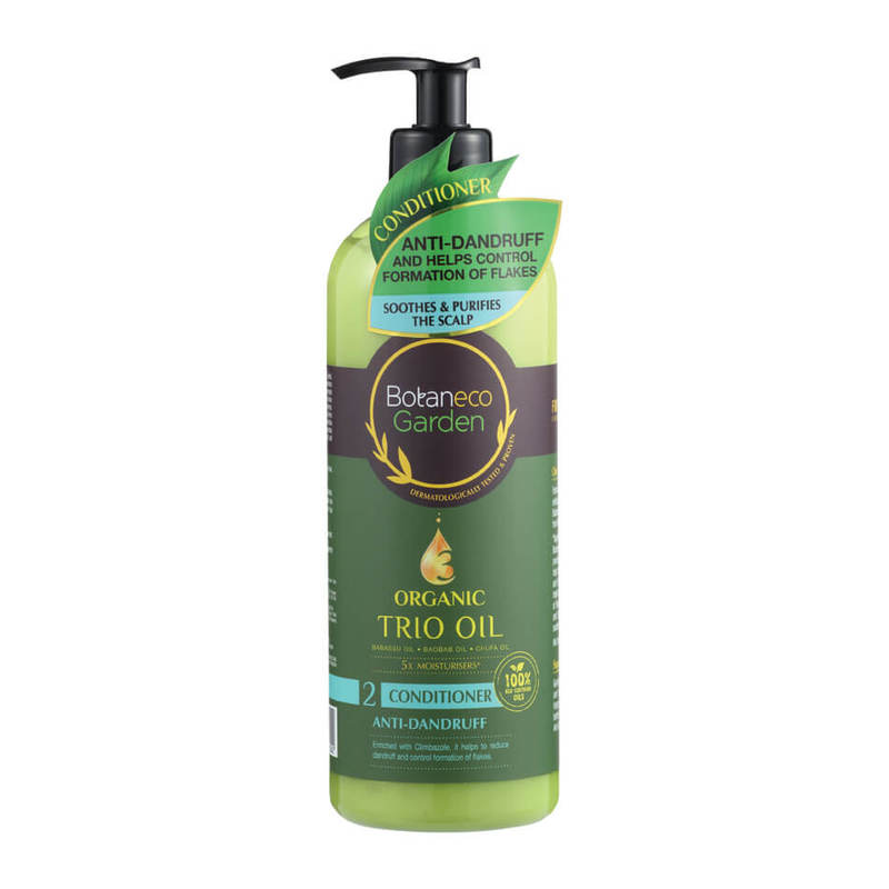 Botaneco Garden Organic Trio Oil Anti-dandruff Conditioner, 500ml