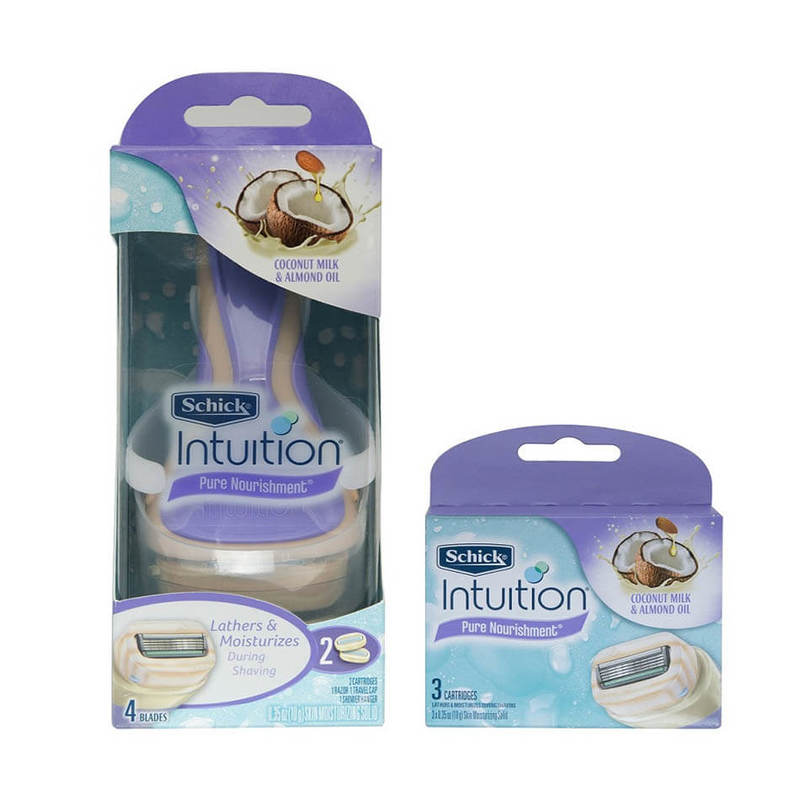 Schick Intuition Coco Kit + Refill 1Set