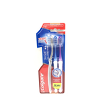 Colgate Slimsoft Dual Action Compact Head Toothbrush Tri Pack 3pcs