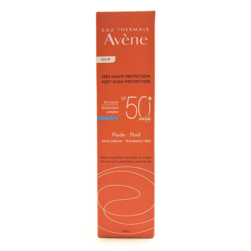 Avene Fluid Spf50+ Fragra-Free 50mL