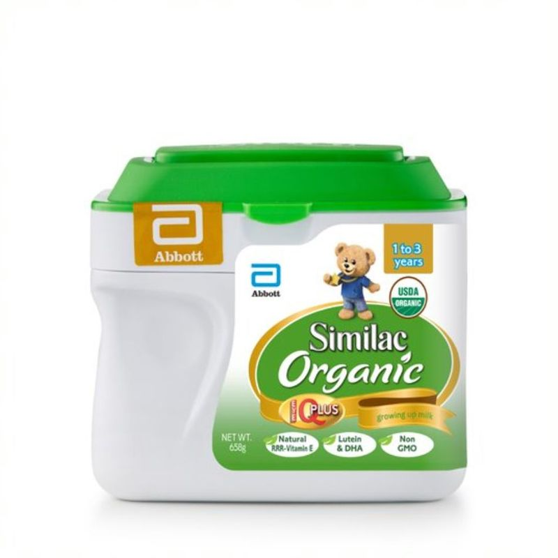 Similac Organic Stage 3 658G (1-3 Years)