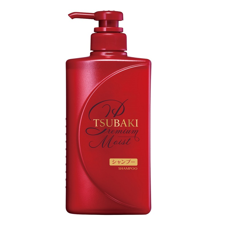 TSUBAKI Premium Moist Shampoo 490mL