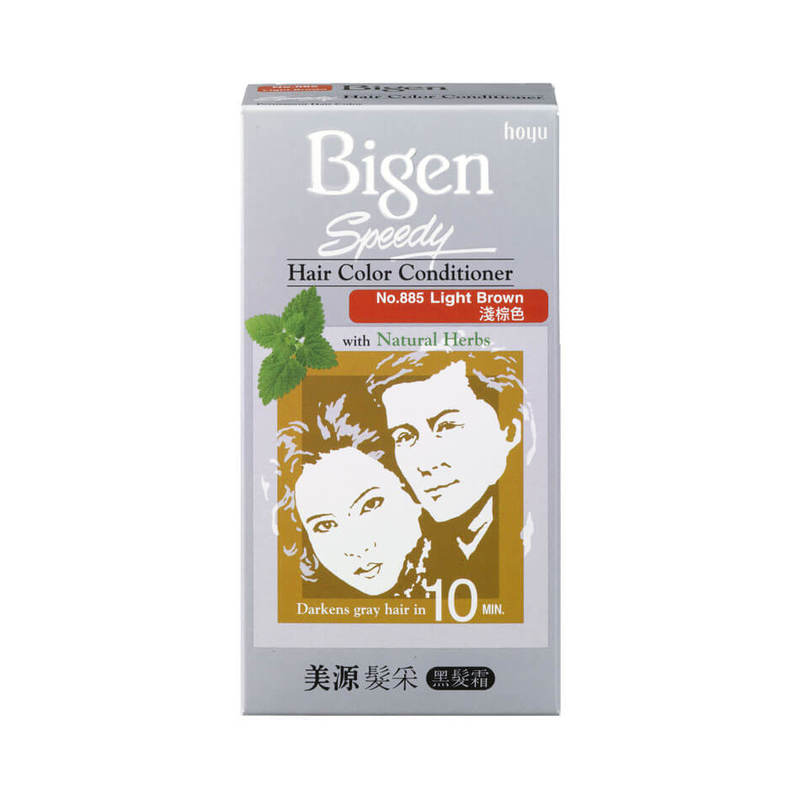 Bigen Speedy Hair Colour Conditioner Light Brown