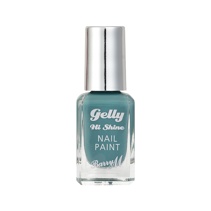 Barry M Gelly Hi Shine Nail Paint Spearmint, 10ml