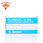 Fluimucil A 600 Acetylcysteine 10 Tablets
