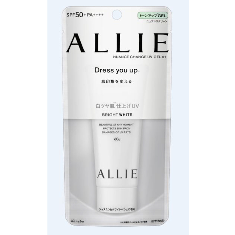 Allie Nuance Change Uv Gel 01 (Bright White) SPF50+ PA++++ 60g