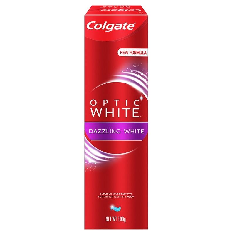 Colgate Optic White Anticavity Flouride Toothpaste, 100g