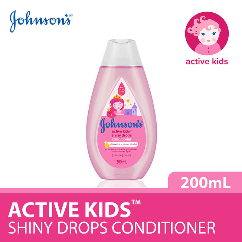 Johnson's Baby Active Kids Shiny Drops Conditioner 200ml
