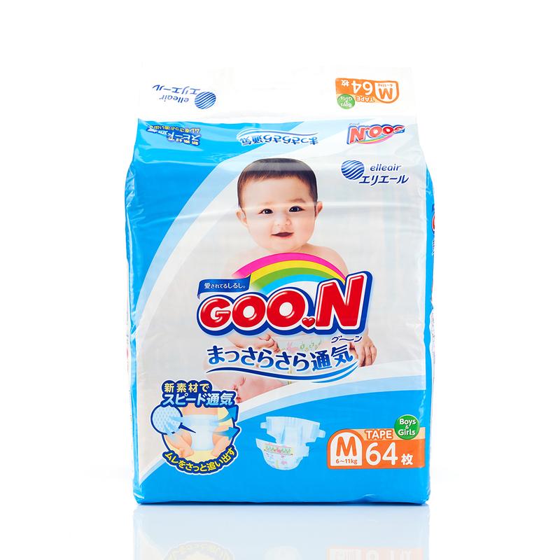 Goo.N Diapers M 64pcs