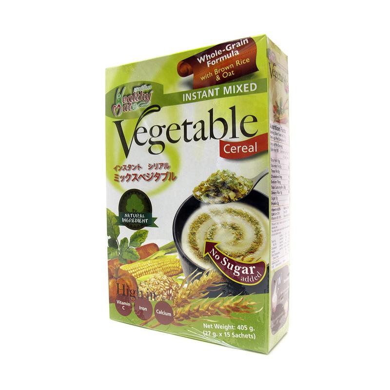 Healthy Mate Cereal Vegetable No Sugar, 15x27g