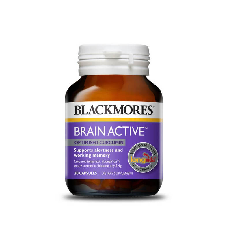 Blackmores Brain Active, 30 capsules