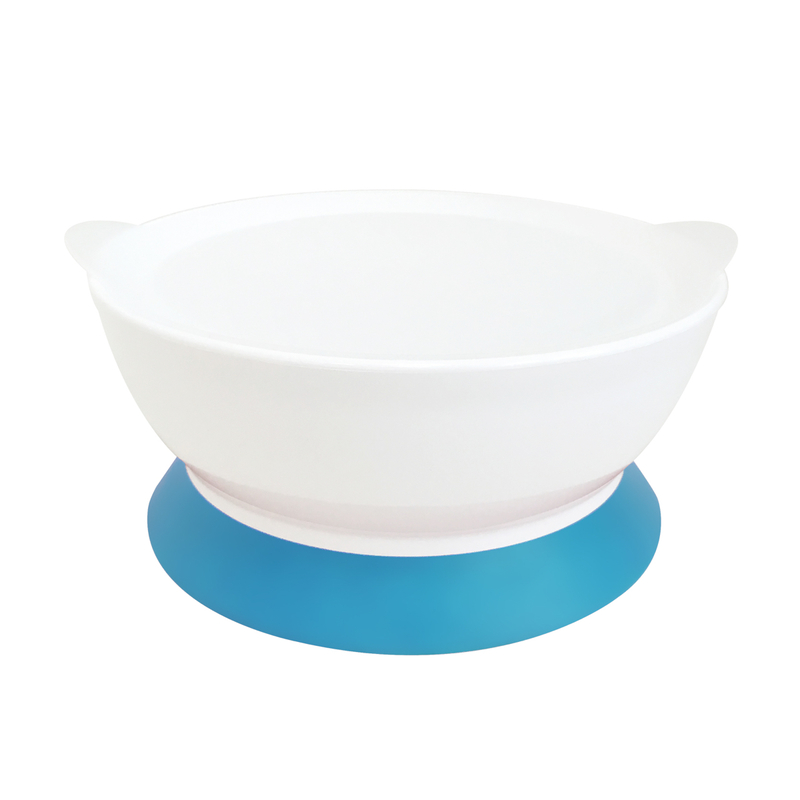 Calibowl 12oz Toddler Suction Bowl(Blue) 220g