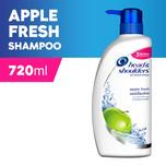 Head & Shoulders Apple Fresh Shmpoo, 720ml