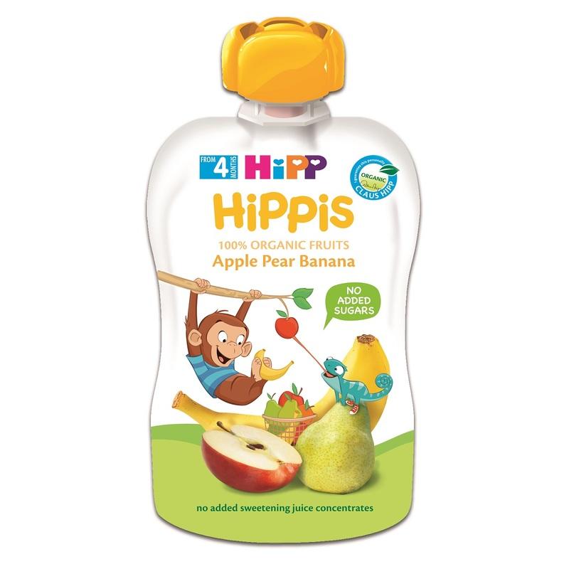 Hipp Organic Apple Pear Banana 100g