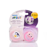 Philips Avent 0-6M Animal Soother x2pcs