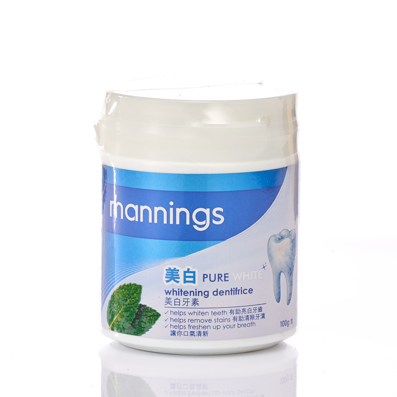 Mannings Whiten Dentifrice 100g