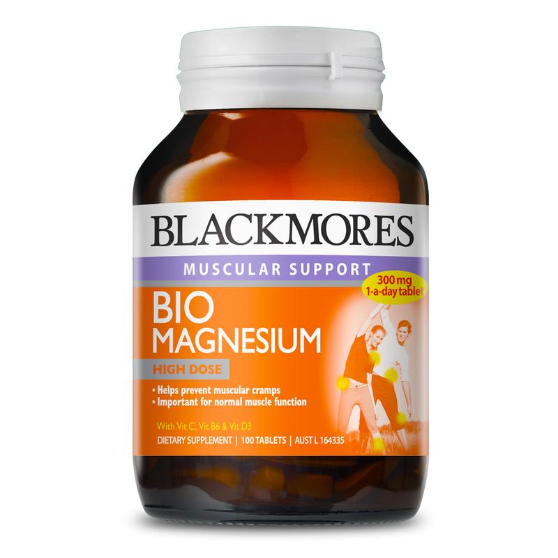 Blackmores Bio Magnesium, 100 tablets