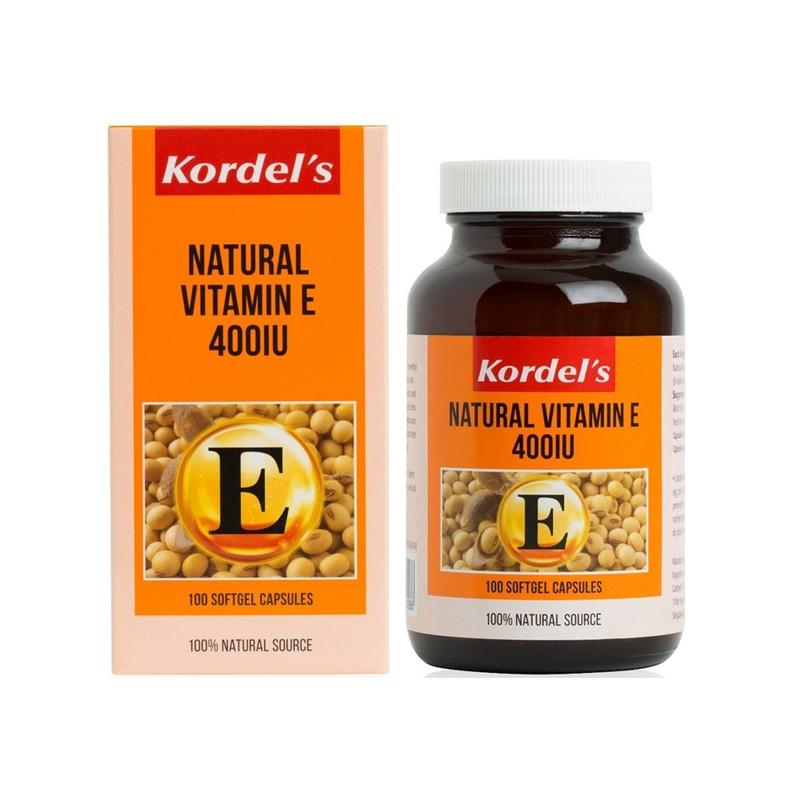Kordel's Vitamin E-400 100s