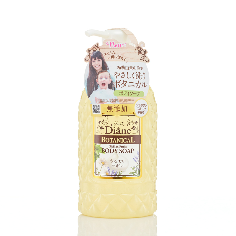 Moist Diane Botanical Sicilian Fruits Body Soap 500mL