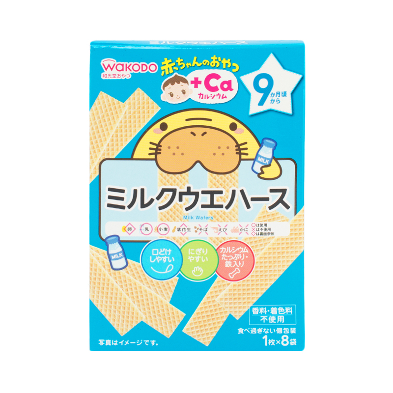Wakodo  Milk Wafer (9M+) 32g