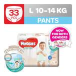 Huggies Platinum Pants (L) 33pcs