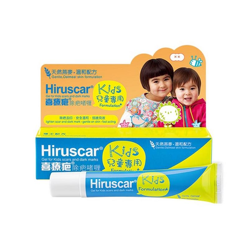 Hiruscar Gel For Kids Scars And Dark Marks Kids Formulation 20g