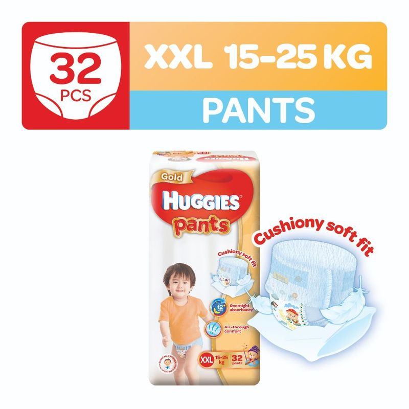 Huggies Gold Pants XXL, 32pcs
