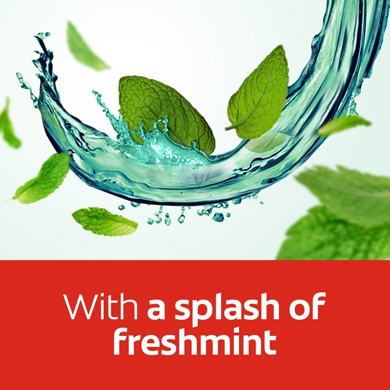 Colgate Plax Freshmint Splash Mouthwash, 1L