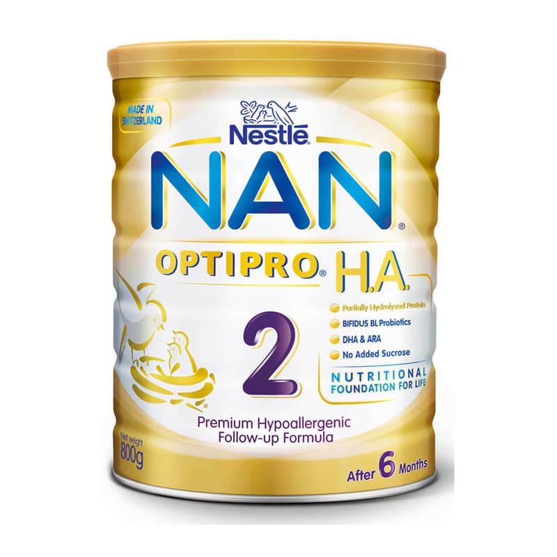 Nestle NAN H.A. Follow up Formula Stage 2, 800g