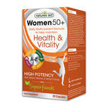 Natures Aid Women's 50+ Multi-Vitamins & Minerals with Superfoods, 30 capsules