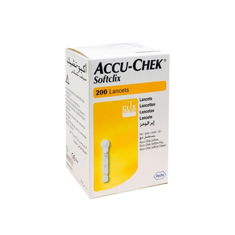 Accu-Chek Softclix lancets 200s