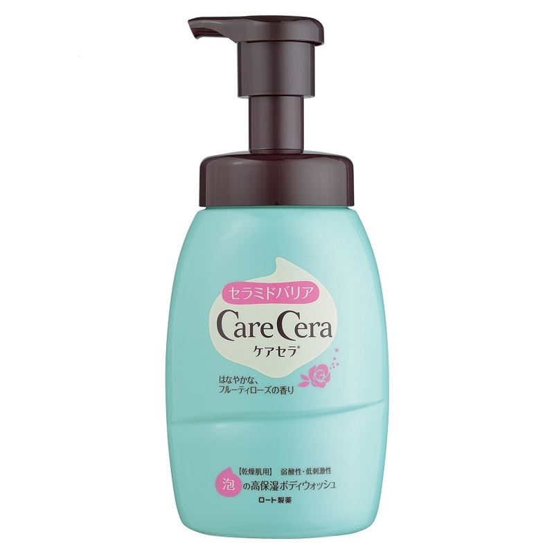 Care Cera Body Foam Wash Fruity Rose, 450ml