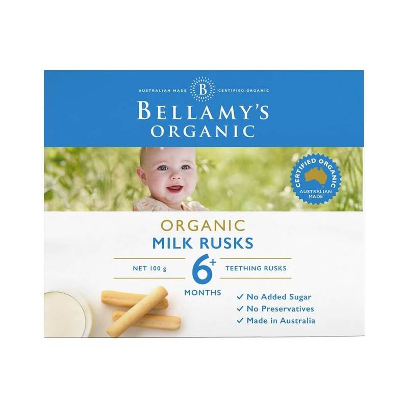 Bellamy's Milk Rusks, 100g