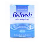 Allergan Refresh Lubricant Eye Drops, 30pcs