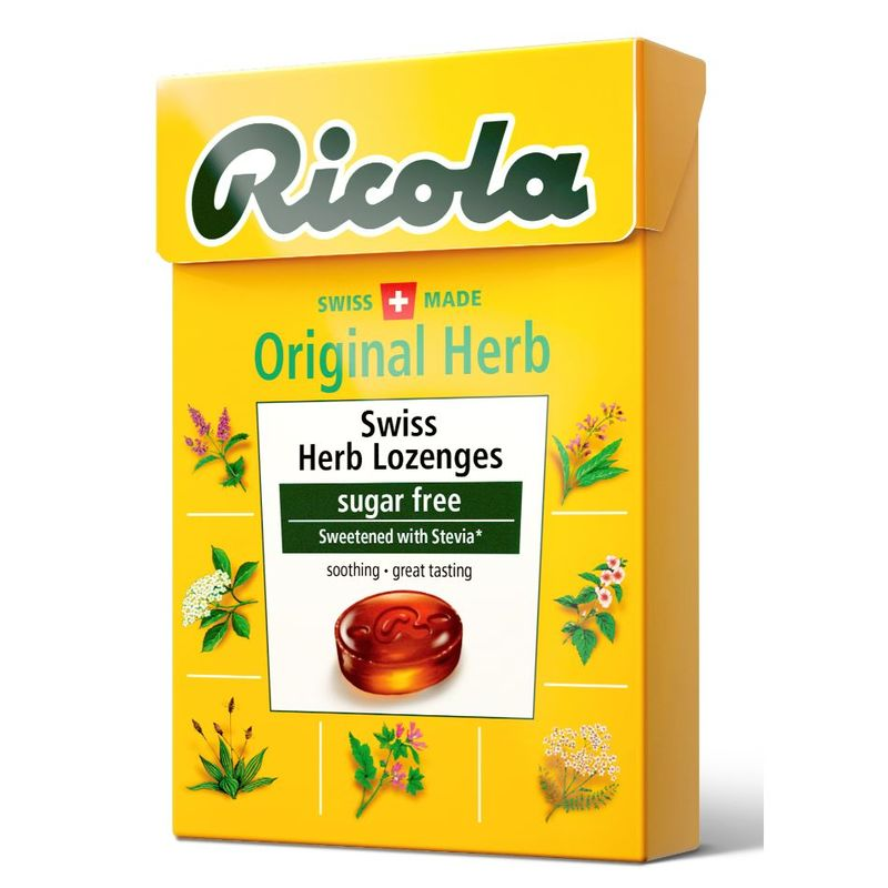 Ricola Swiss Herb Lozenges Original, 45g