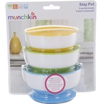 Munchkin Stay-Put Suction Bowl 3s