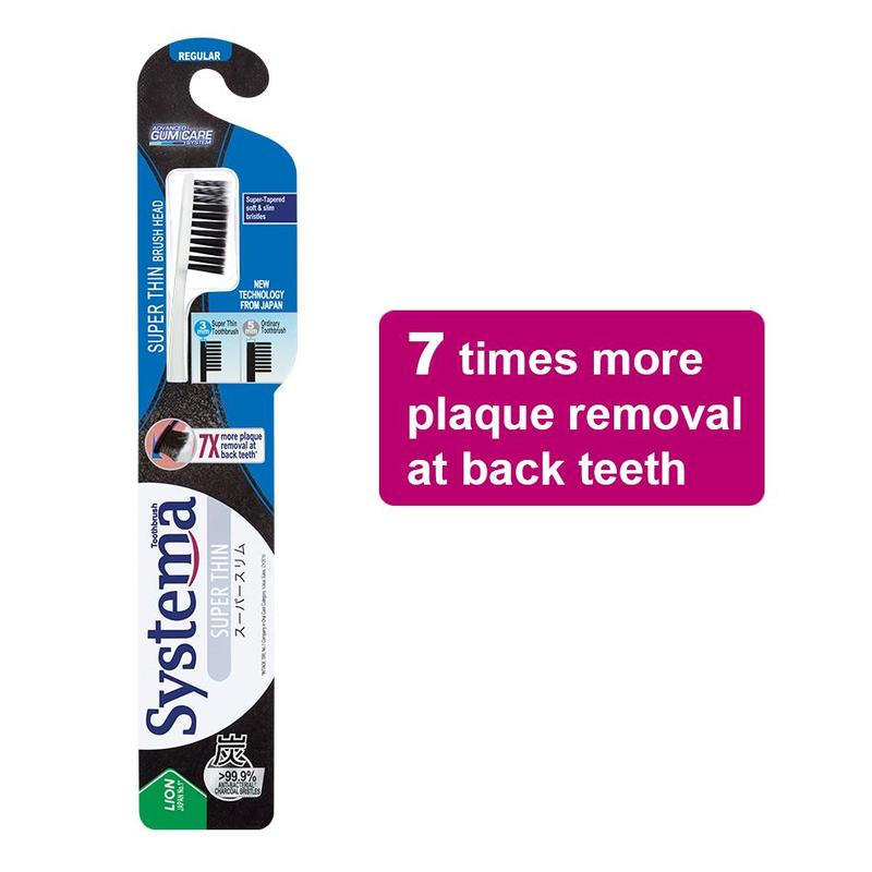 Systema Super Thin Toothbrush - Regular 1s
