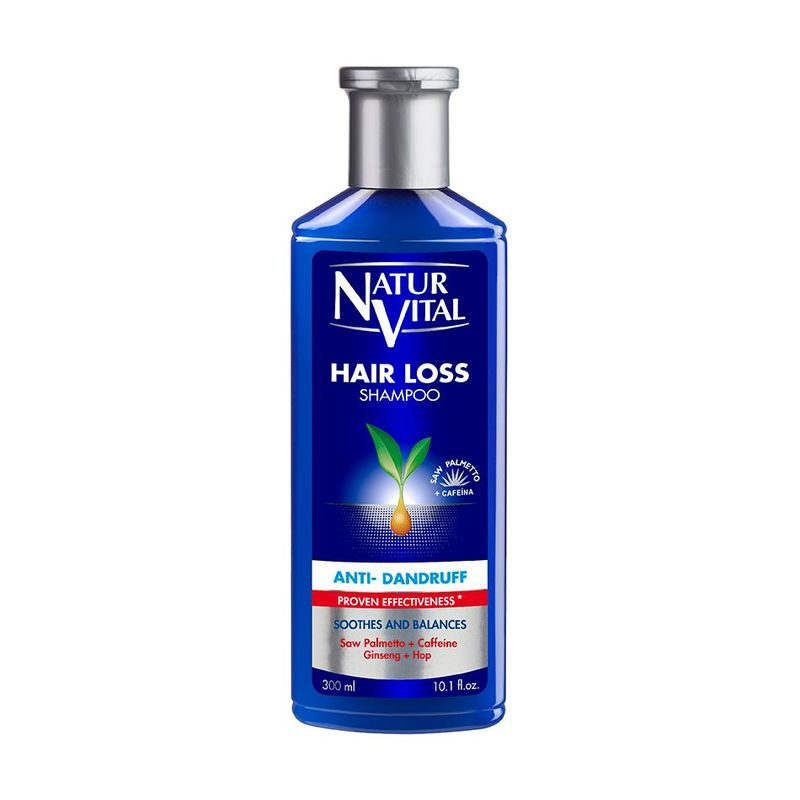 Natur Vital Hair Loss Shampoo Anti Dandruff, 300ml