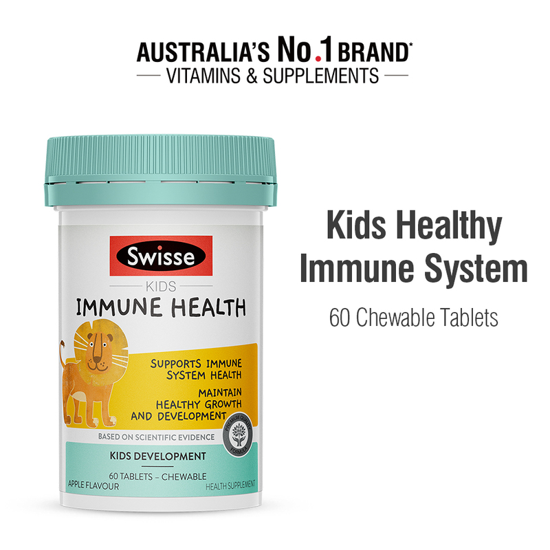 Swisse Kids Immune Health Supplement, 60 tablets