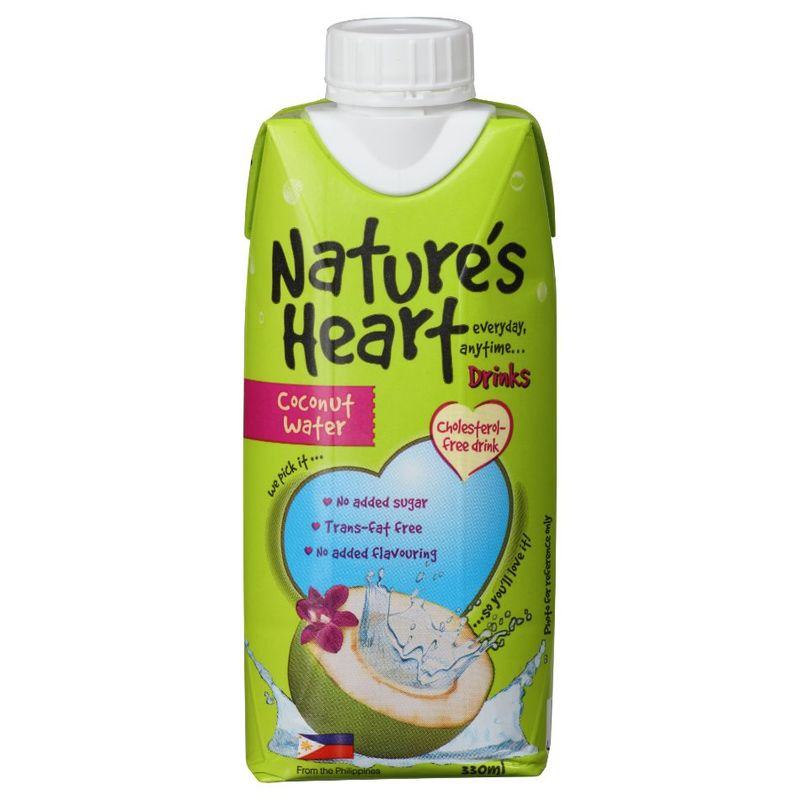 Nature's Heart Coconut Water, 330ml
