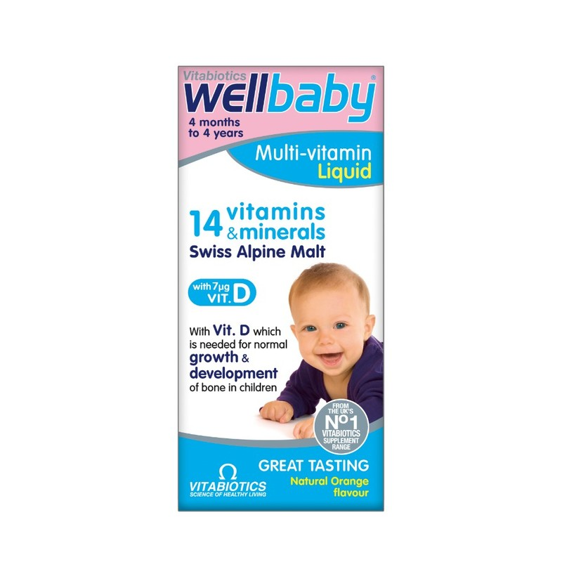 Vitabiotics Well Kid Baby & Infant, 150ml