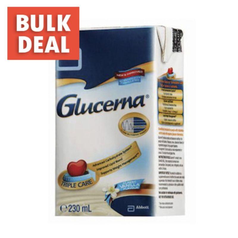 Glucerna Liquid Triplecare Vanilla, 230ml