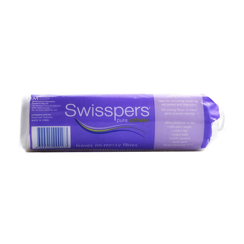 Swisspers  Round Make-up Pads  802s