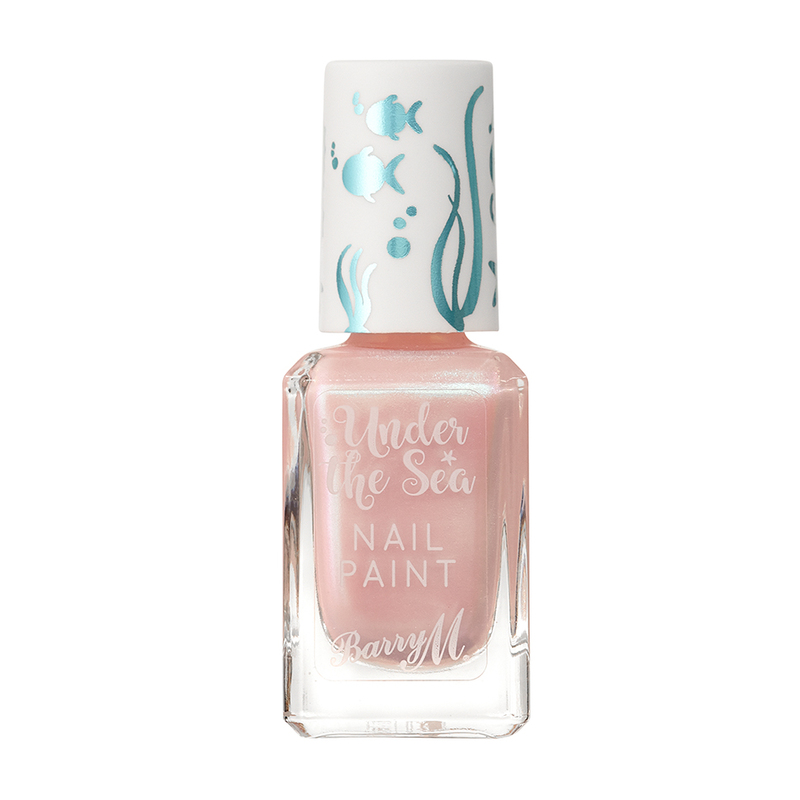 Barry M Under the Sea Nail Paint Oyster Beach, 10ml