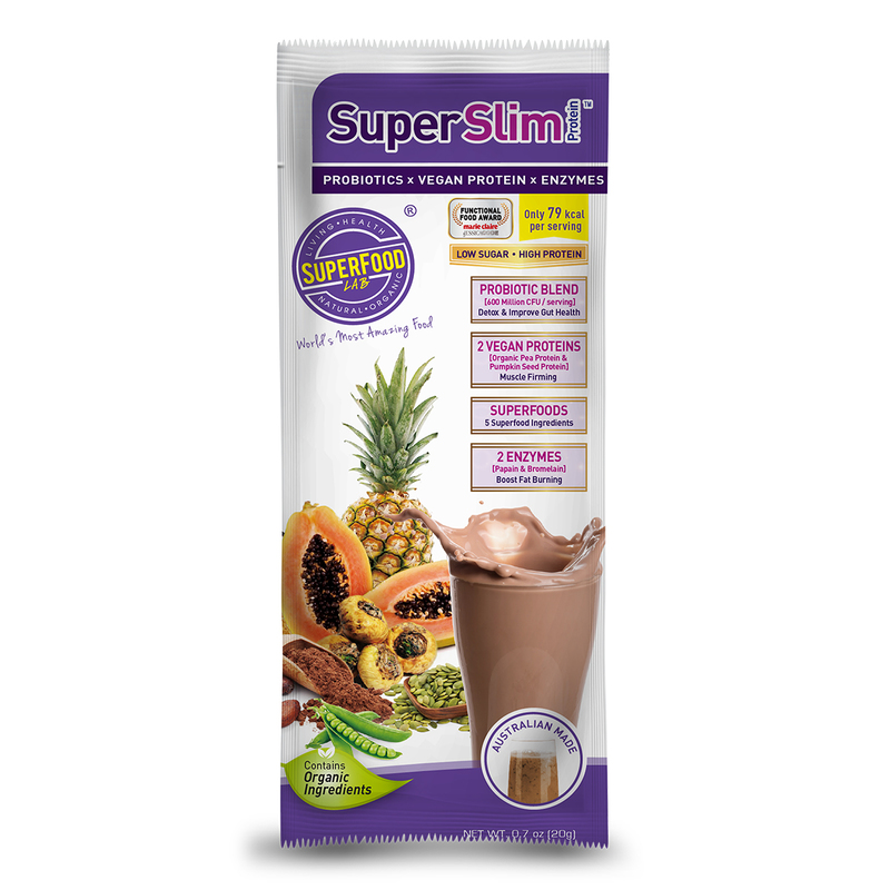 Superfood Lab Superslim Protein 20g x 12bags