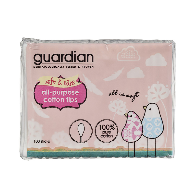 Guardian All-Purpose Cotton Tips, 100pcs
