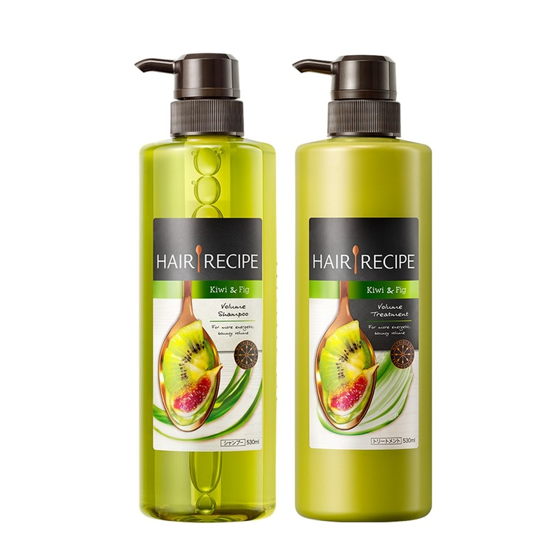 Hair Recipe Kiwi Fig Shampoo + Conditioner Pack 530mL + 530mL