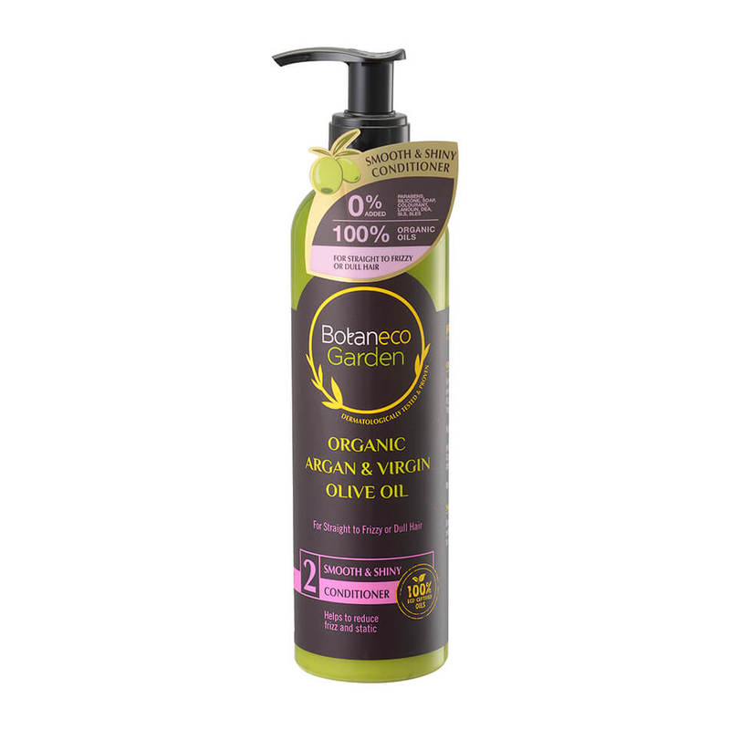 Botaneco Garden Argan and Virgin Olive Oil Conditioner Smooth & Shiny,  290ml