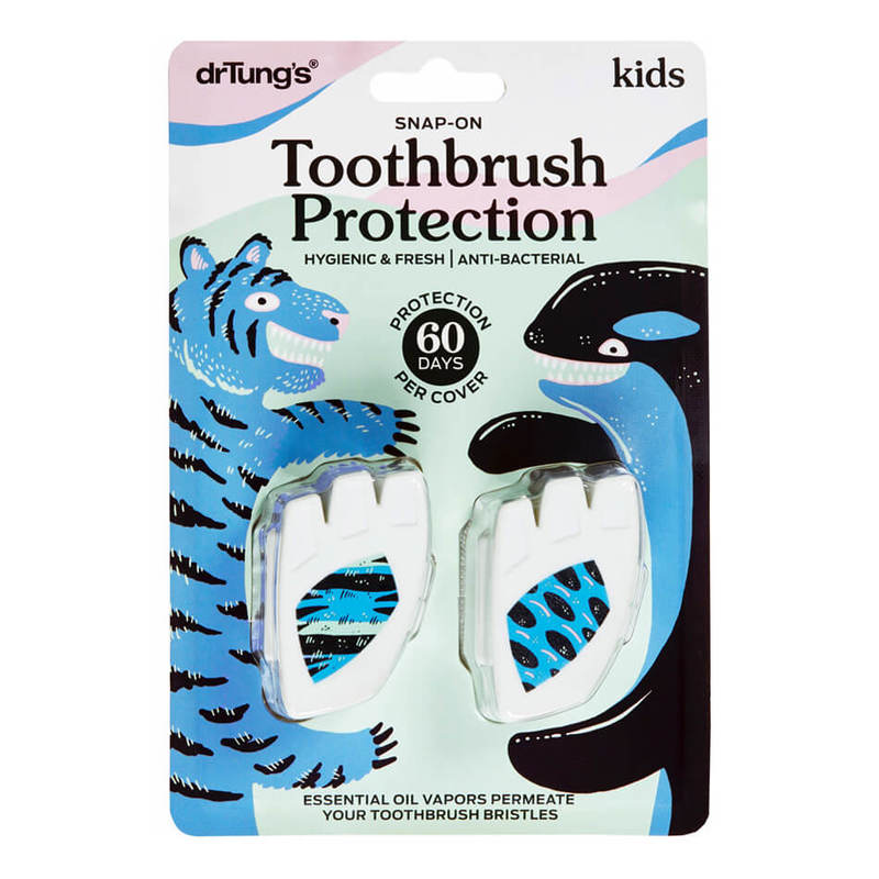 Dr. Tung's Kids Snap-On Toothbrush Sanitizer 2's